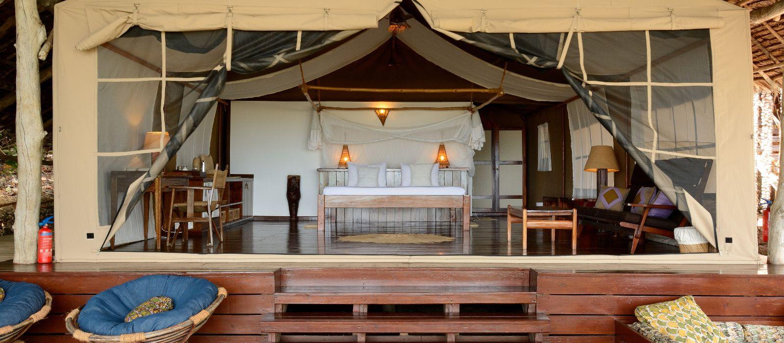 Hotel Fundu Lagoon Tansania