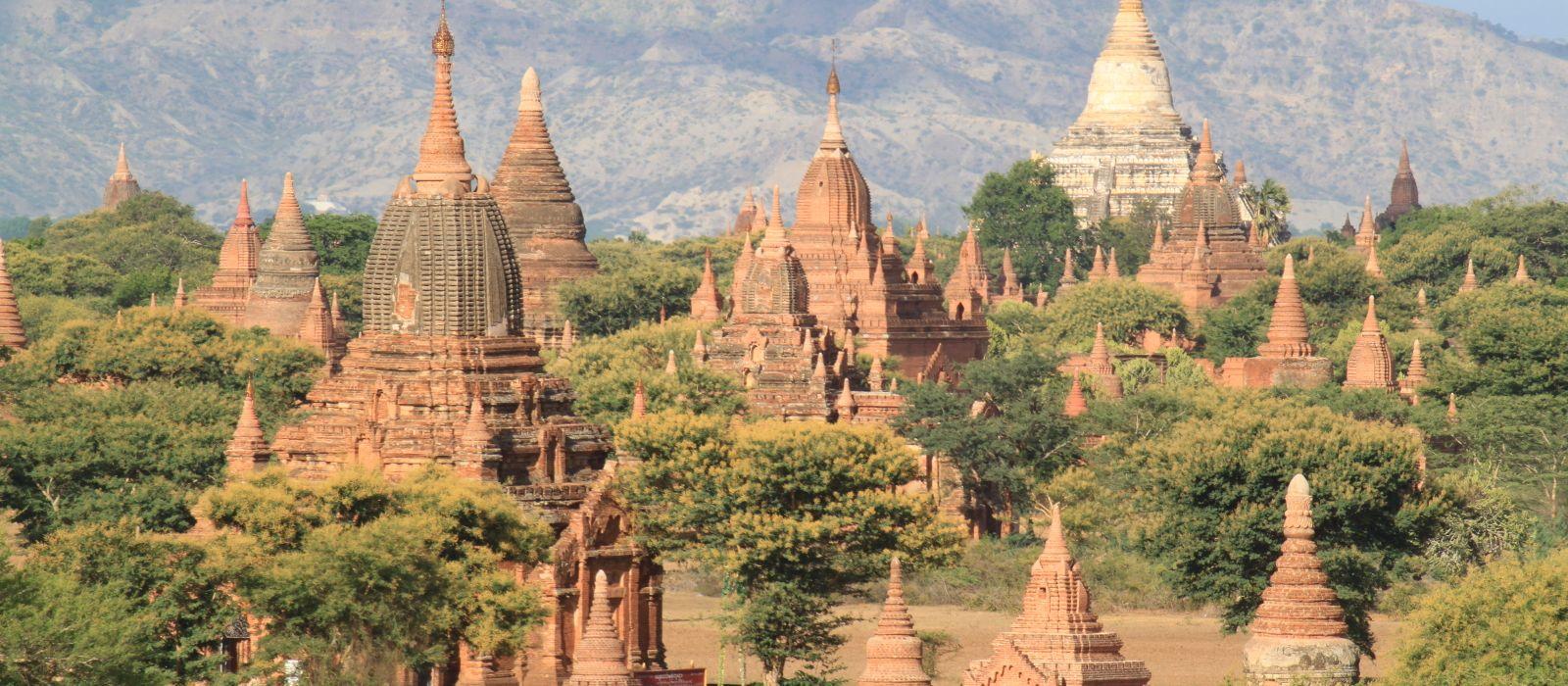 Destination Nyaung U Myanmar