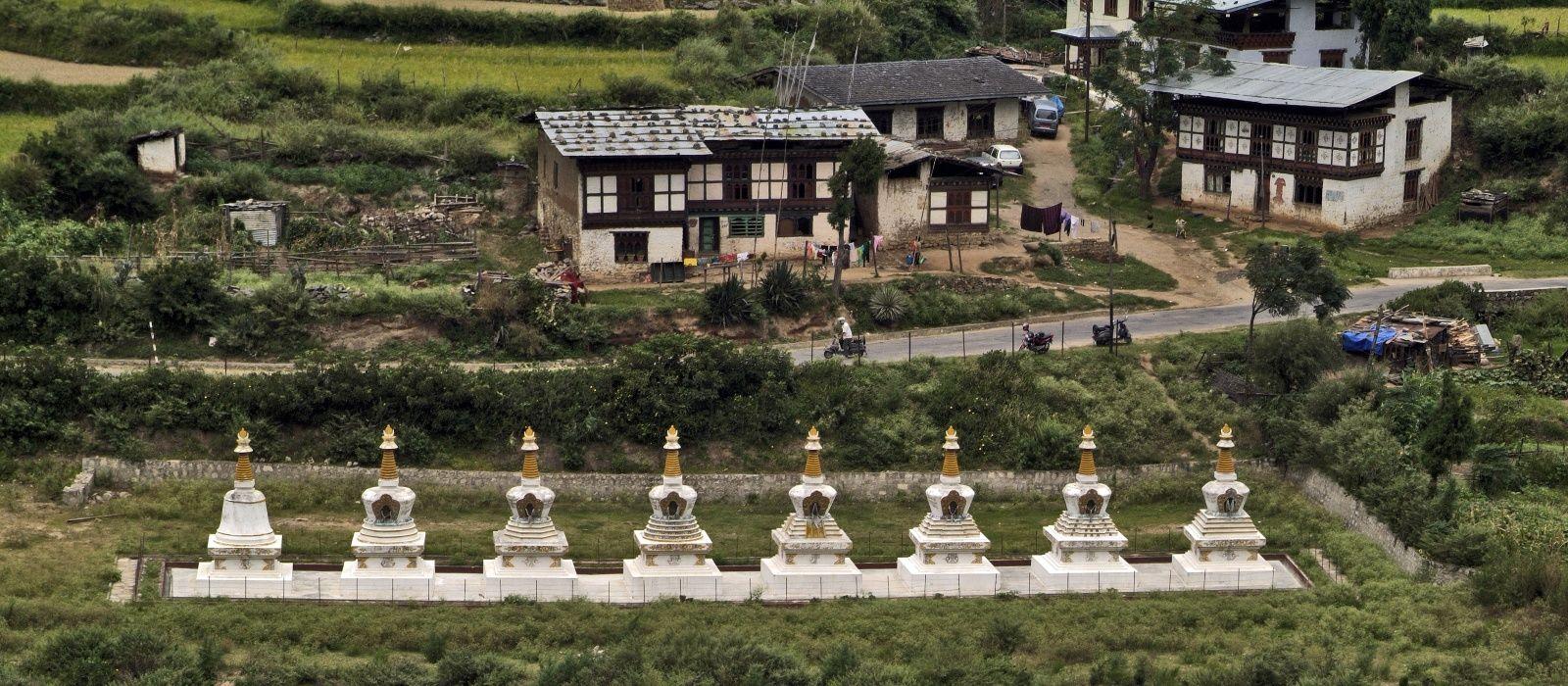 Reiseziel Wangdue Bhutan