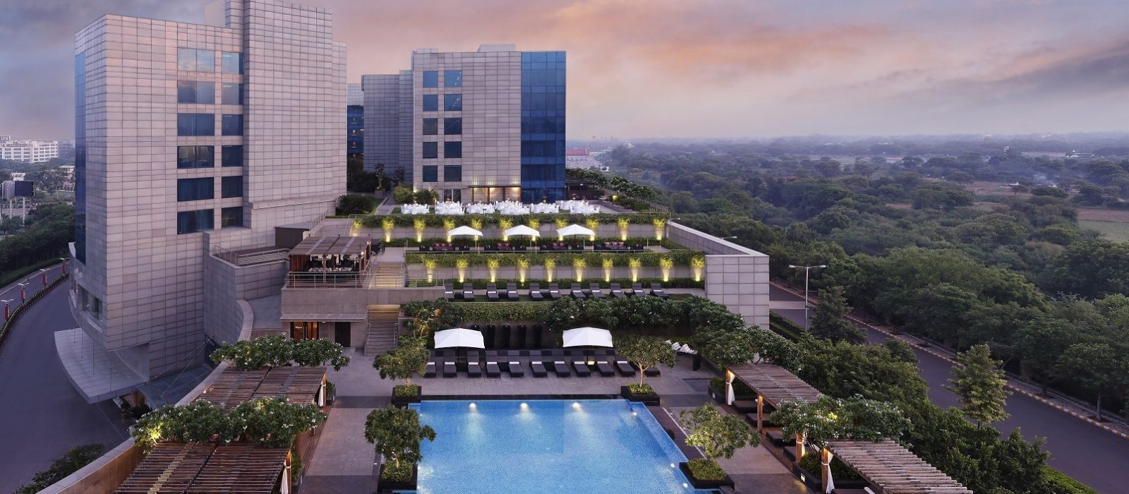 Hotel The Leela Ambience Gurgaon North India
