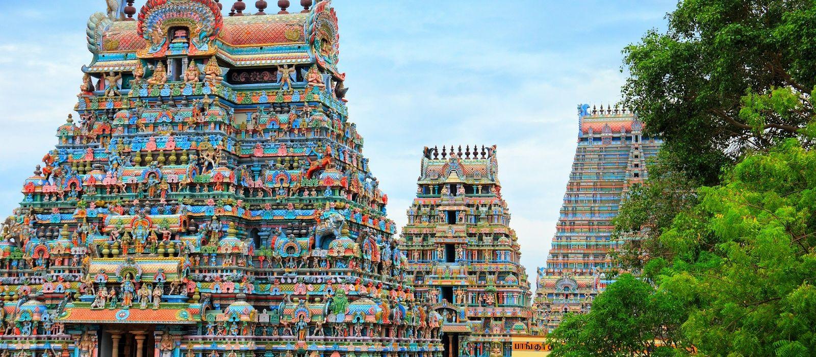 Reiseziel Trichy Südindien
