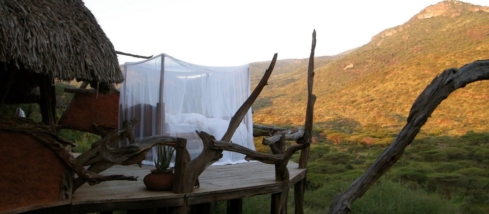 Hotel Il Ngwesi Kenia
