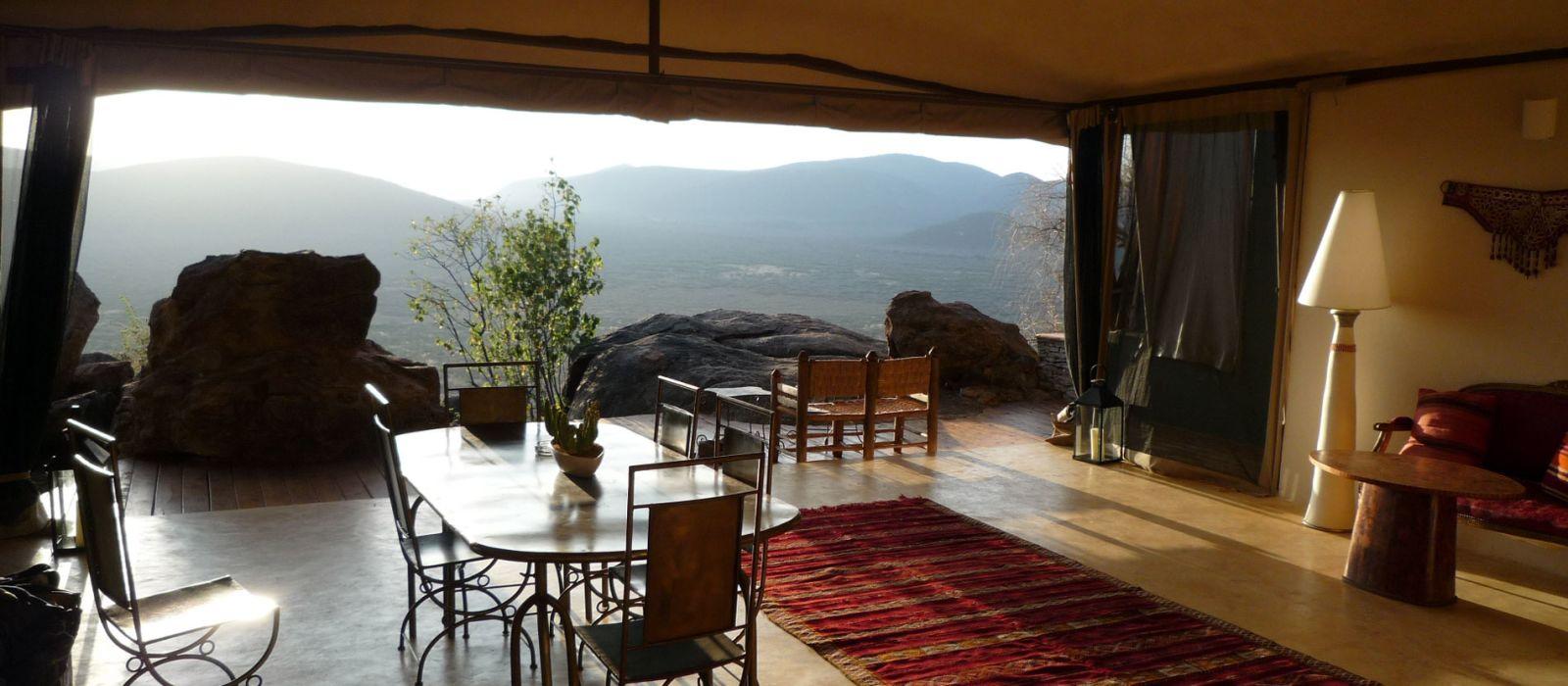 Hotel Saruni Samburu Kenia