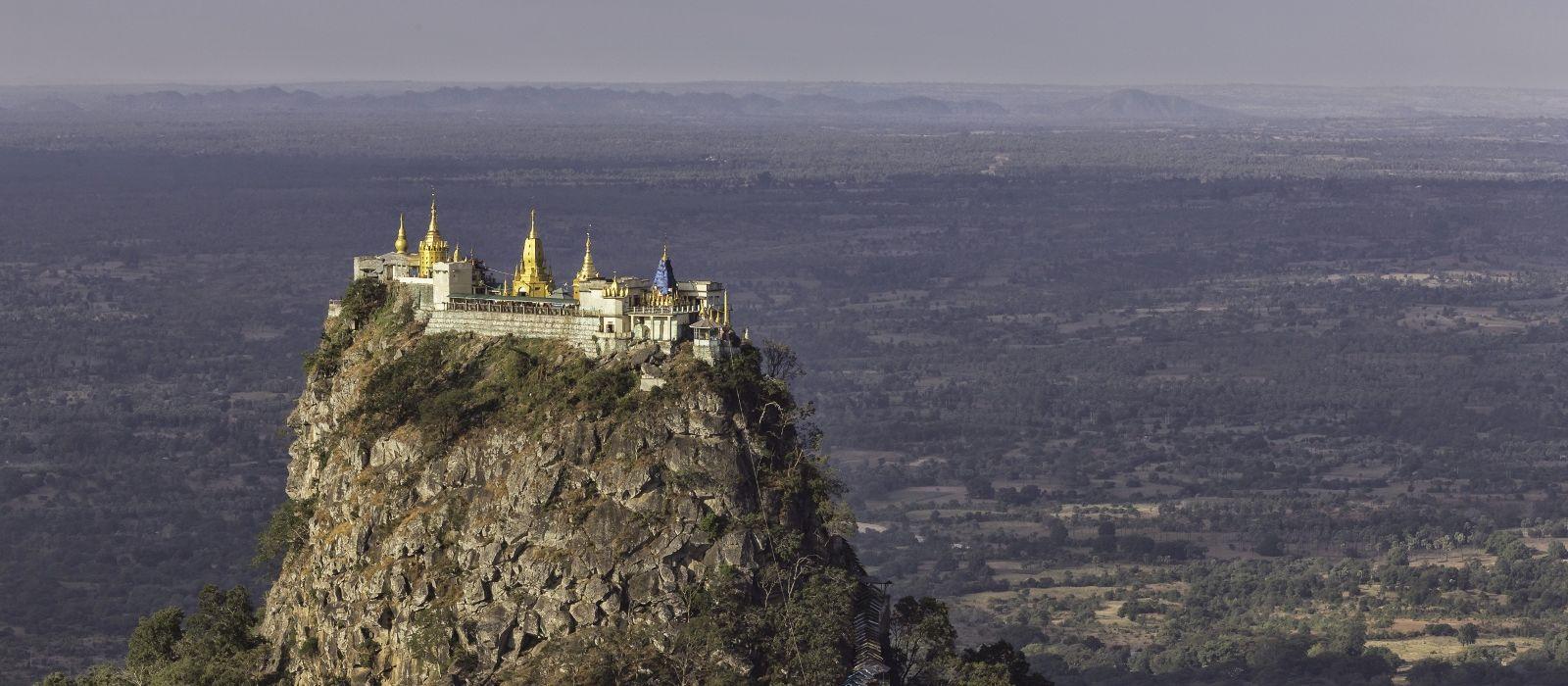 Destination Mt. Popa Myanmar