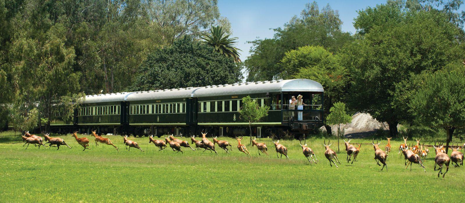 Von Kapstadt zu den Viktoriafällen mit Rovos Rail Urlaub 6