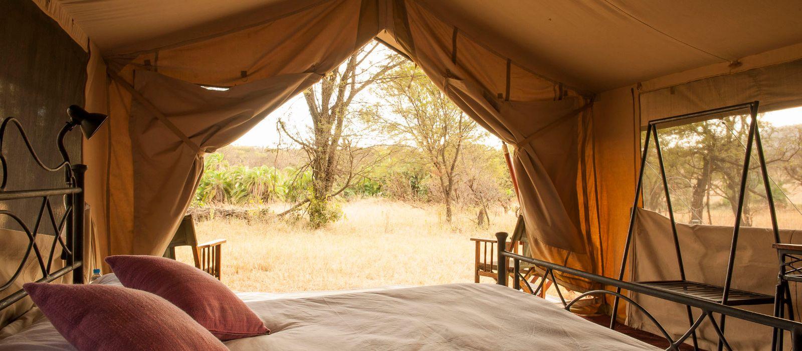 Hotel Ndutu under Canvas Tansania