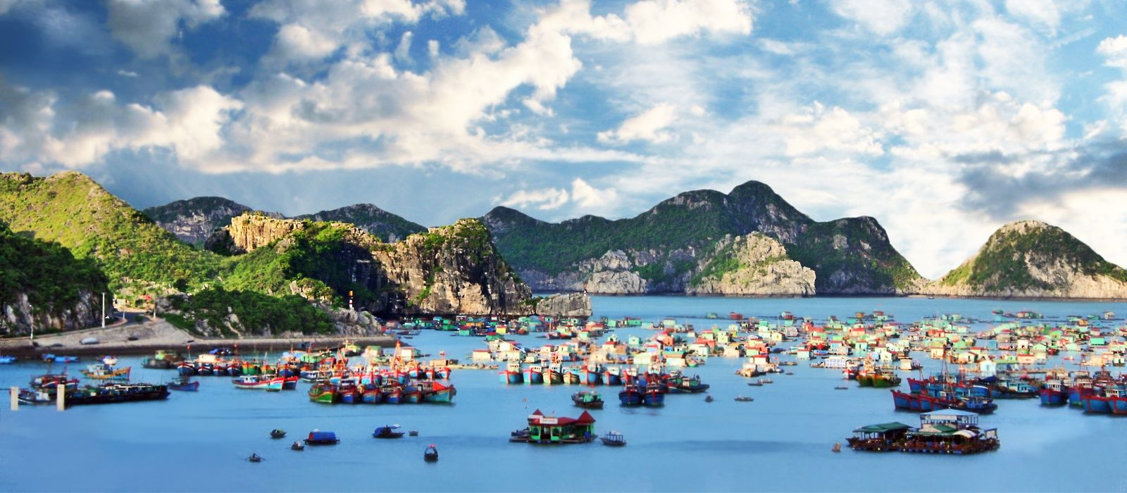 Destination Cat Ba Island Vietnam