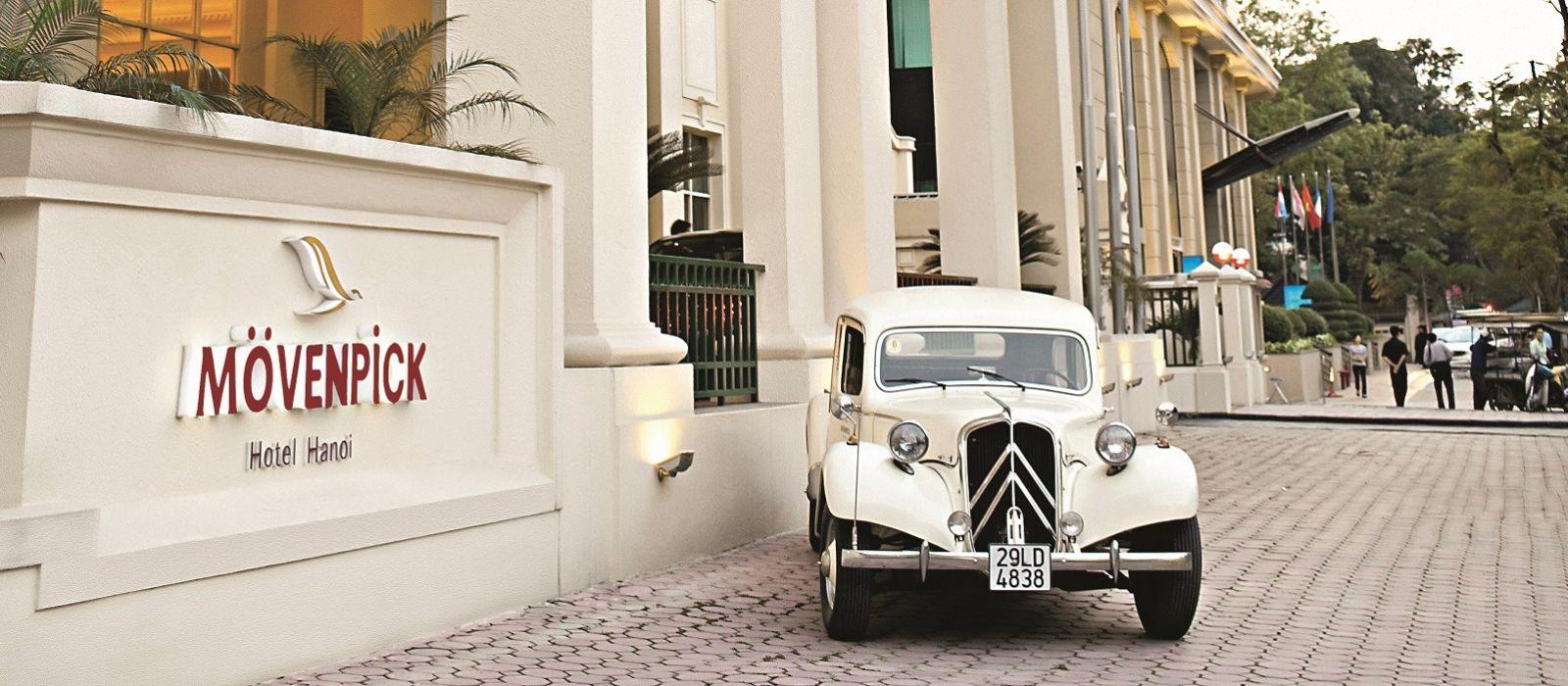 Hotel Mövenpick  Hanoi Vietnam
