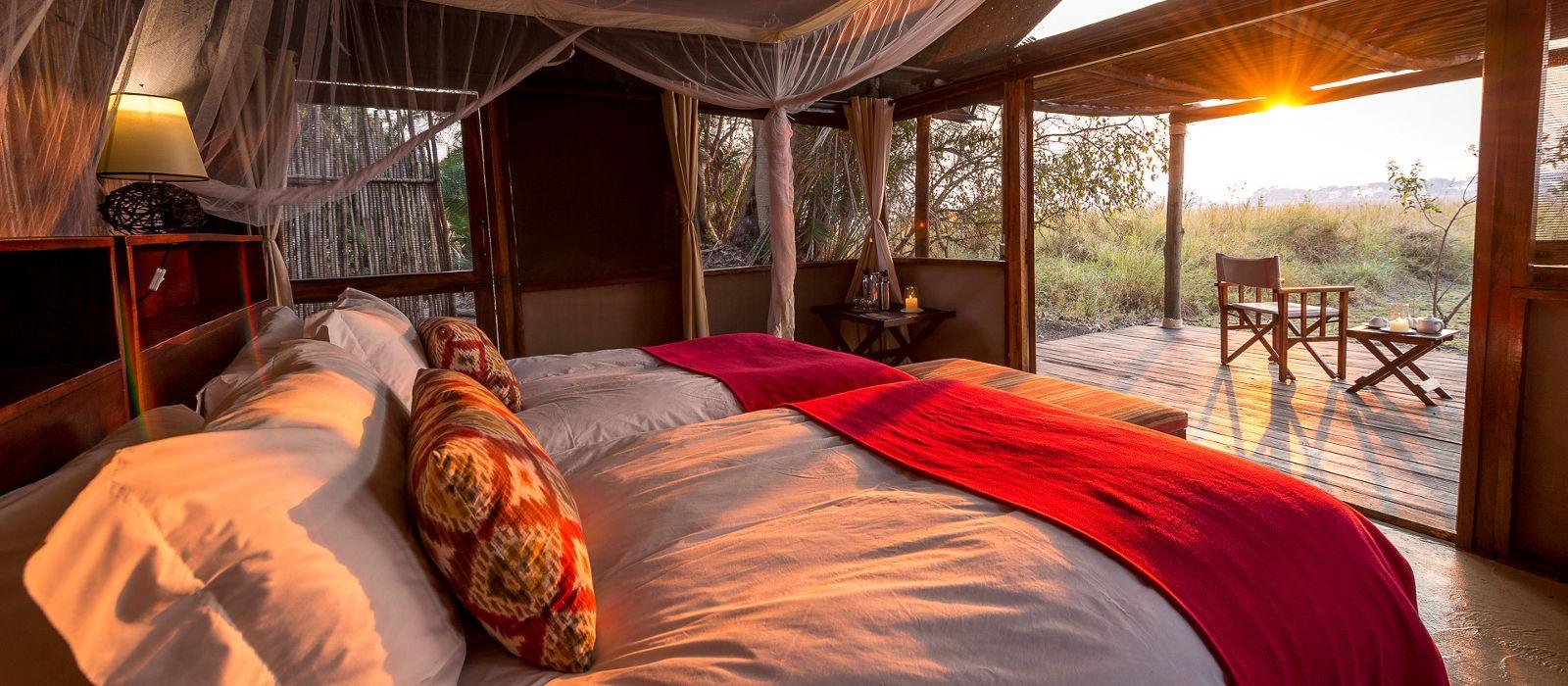 Hotel Busanga Bush Camp Sambia