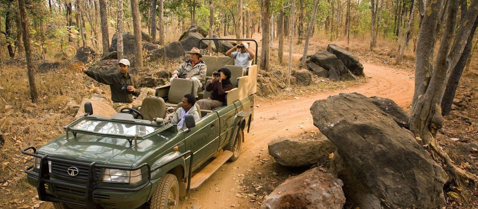 Im Land der wilden Tiger Urlaub 3