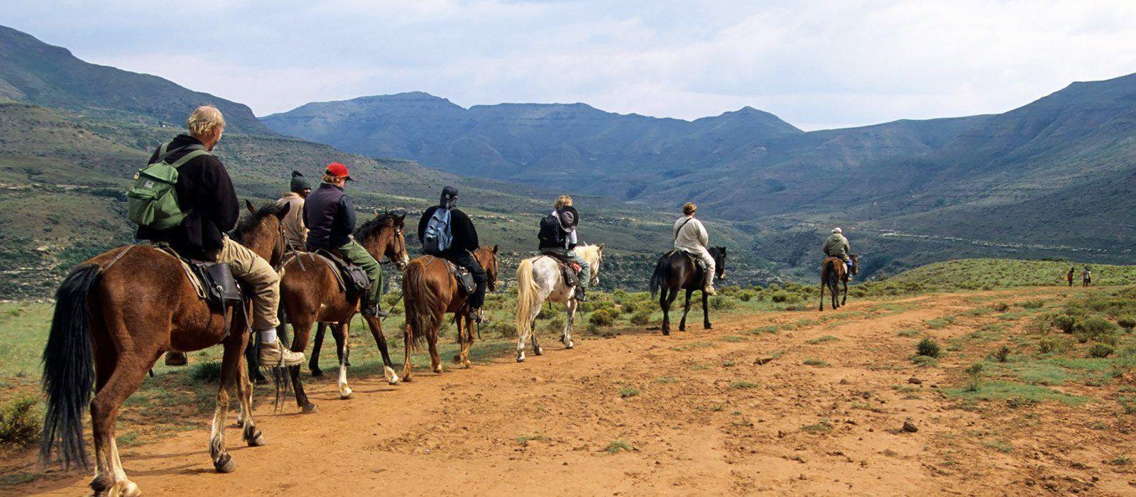 Wanderparadies Südliches Afrika: Abenteuerurlaub zu Fuß und zu Pferd Urlaub 3