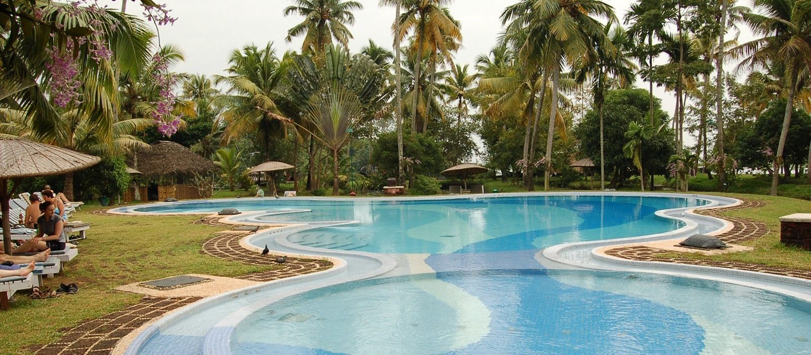 Hotel Coconut Lagoon Südindien