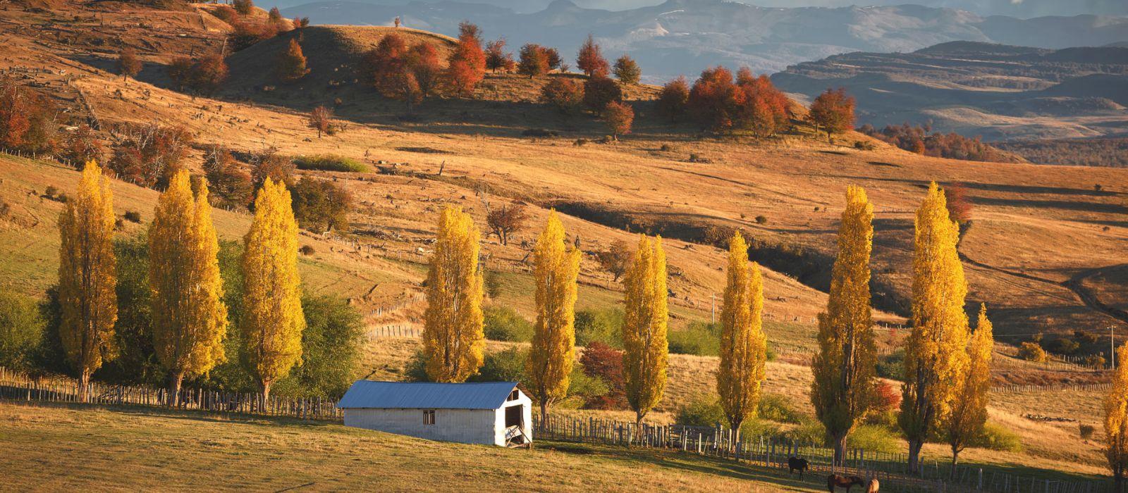 Destination Coyhaique Chile