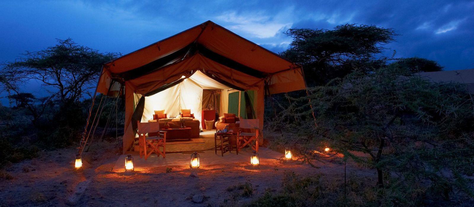 Hotel Ubuntu Camp N Tansania
