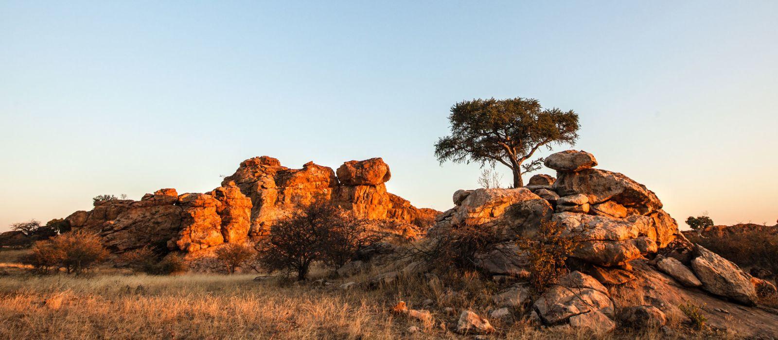 Reiseziel Tuli Block Botswana