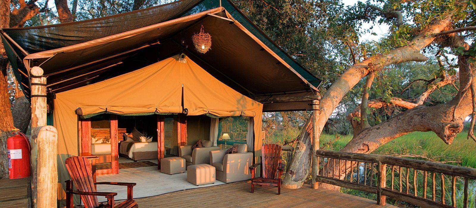 Hotel Gunn's Camp Botswana