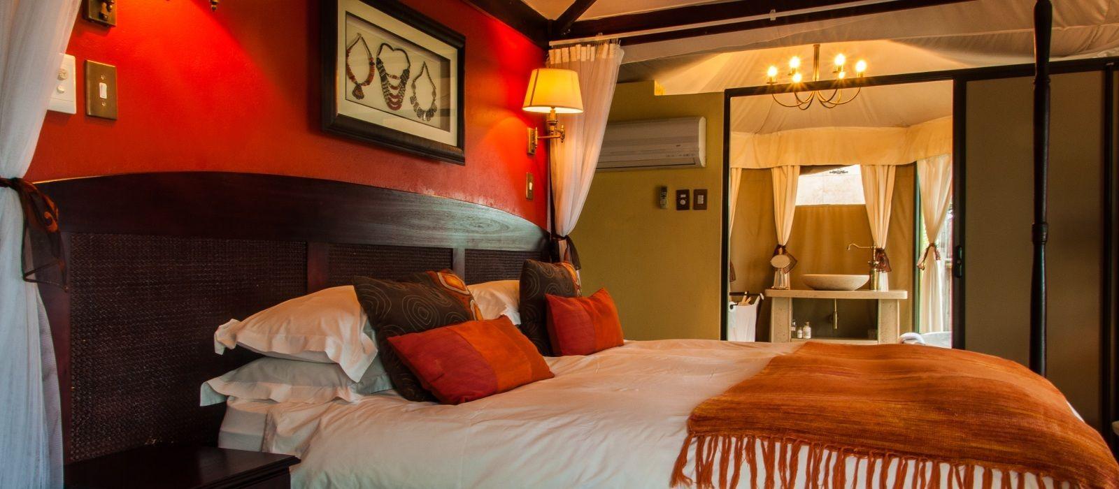 Hotel Elephant Camp Zimbabwe