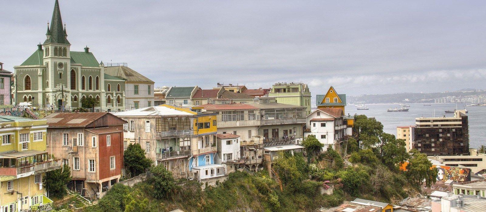 Reiseziel Valparaíso Chile