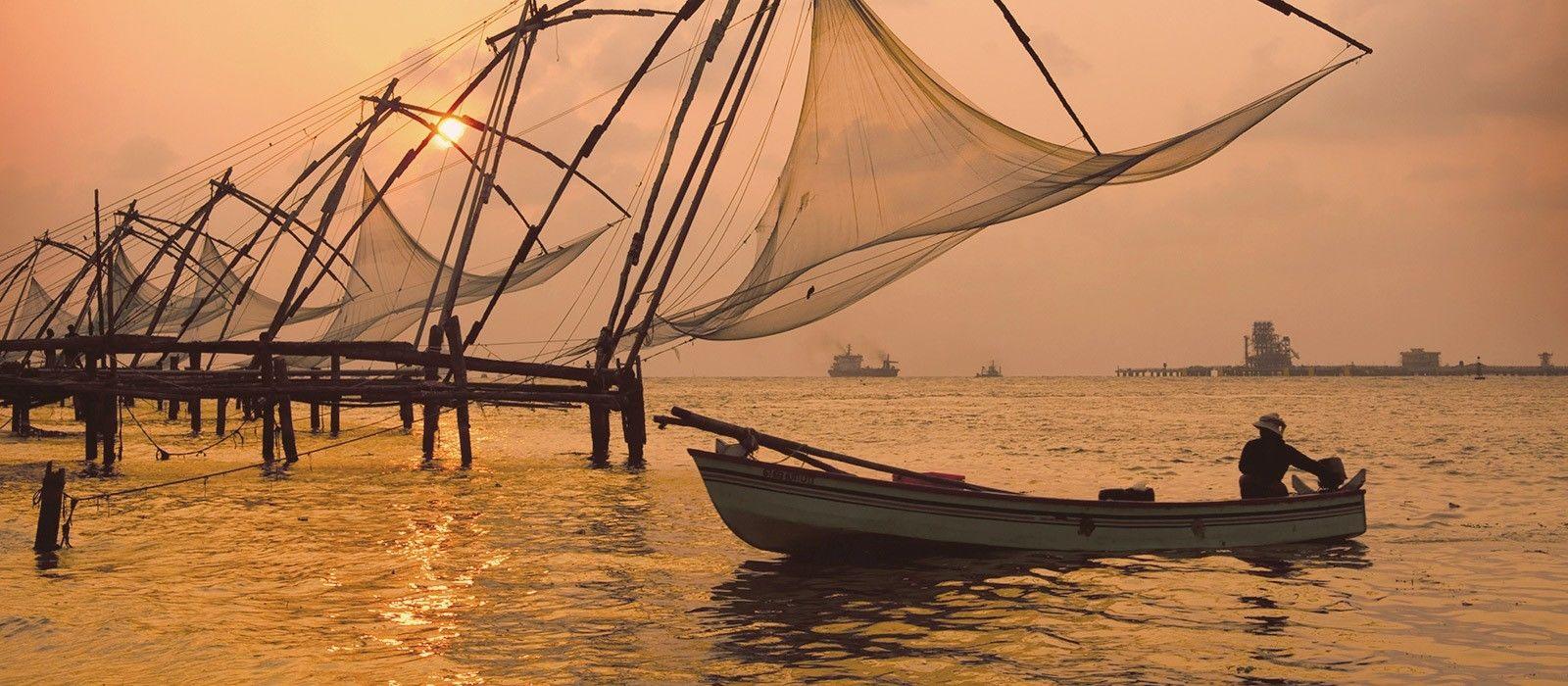 Los canales de Kerala Tour Trip 1