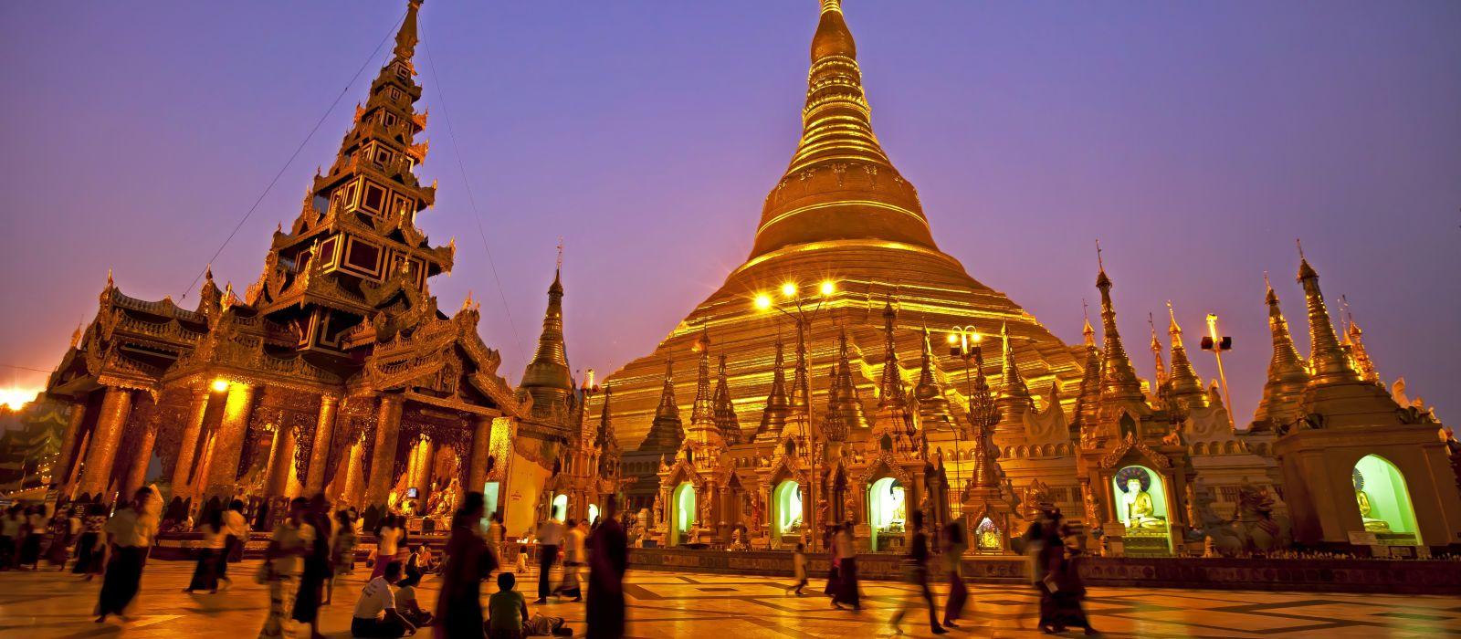 Die Höhepunkte des Goldenen Landes – Luxusreise nach Myanmar Urlaub 2