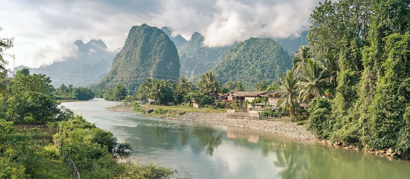 Laos Reise zu Lande und zu Wasser Urlaub 2