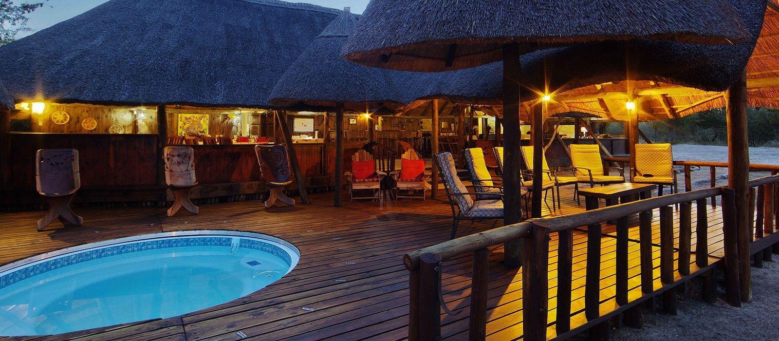 Hotel Dinaka Safari Lodge Botswana