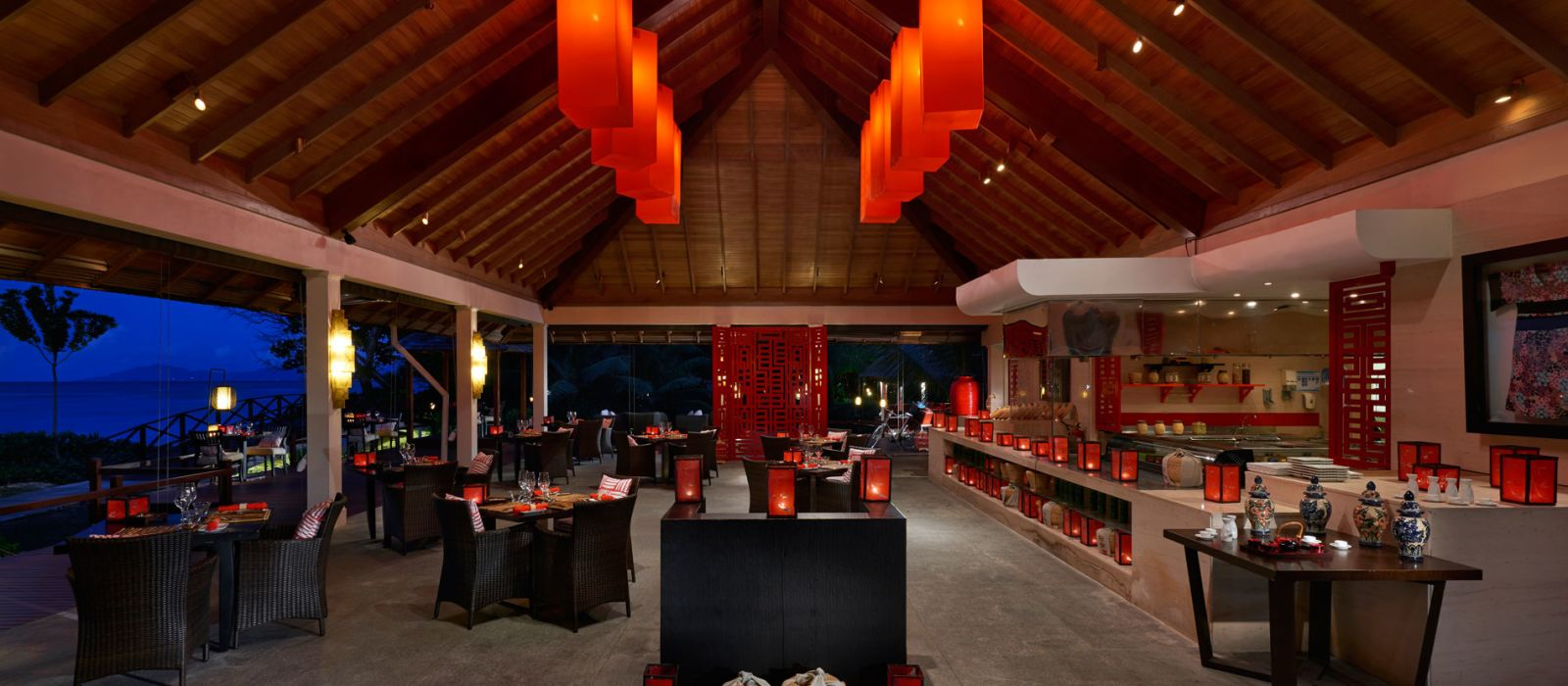 Hotel Hilton Labriz Silhouette Island Seychellen