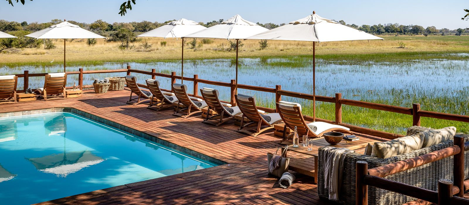 Hotel Sanctuary Chief's Camp Botswana