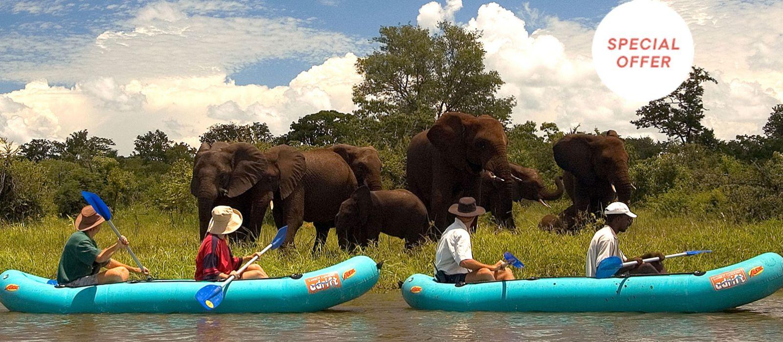 Simbabwe: Klassische Safari Rundreise Urlaub 2
