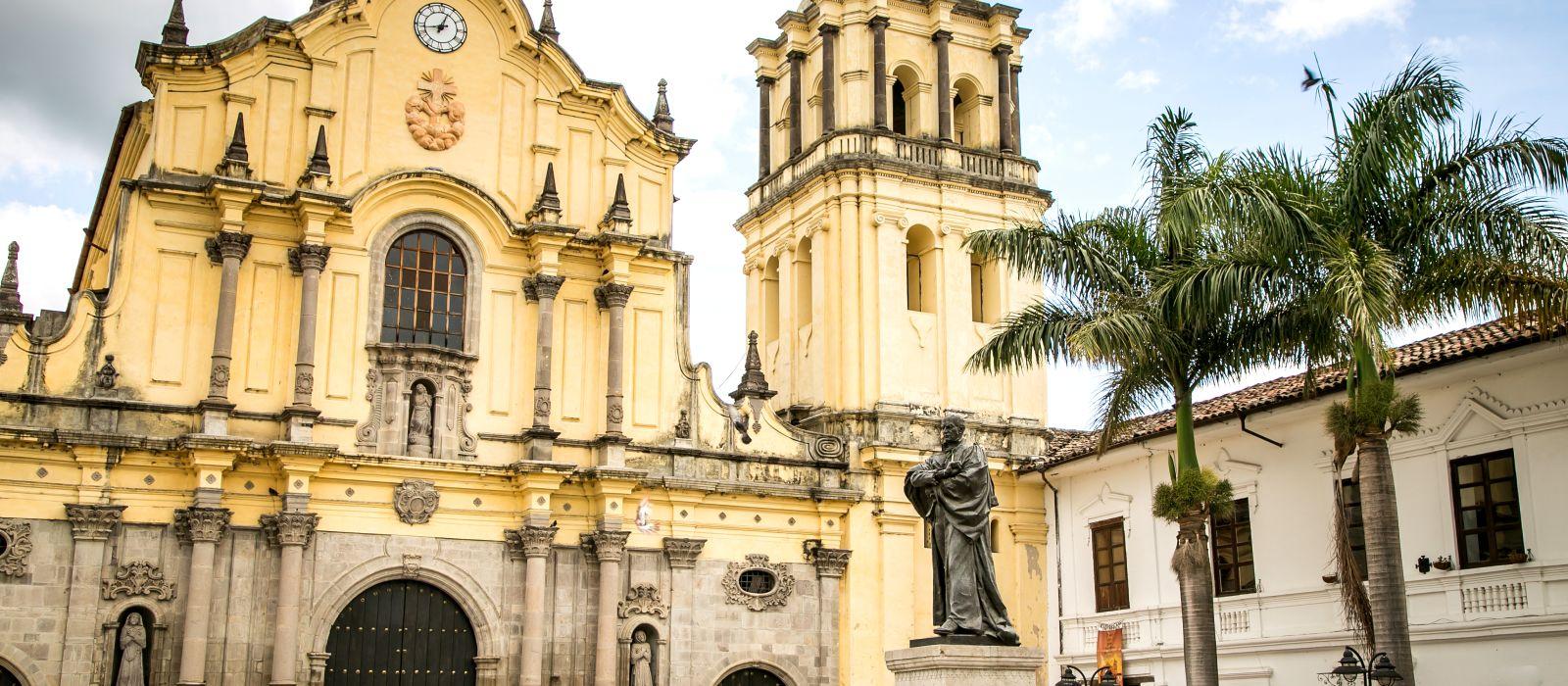 Reiseziel Popayán Kolumbien