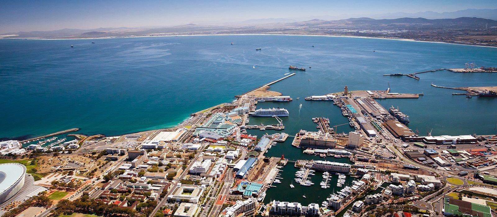 Reiseziel Kapstadt Hafenviertel (V&A Waterfront) Südafrika