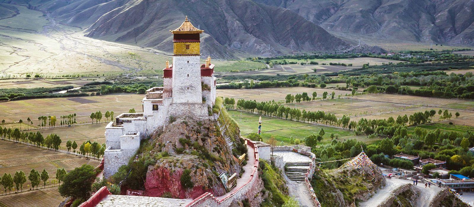 Destination Tsetang Tibet