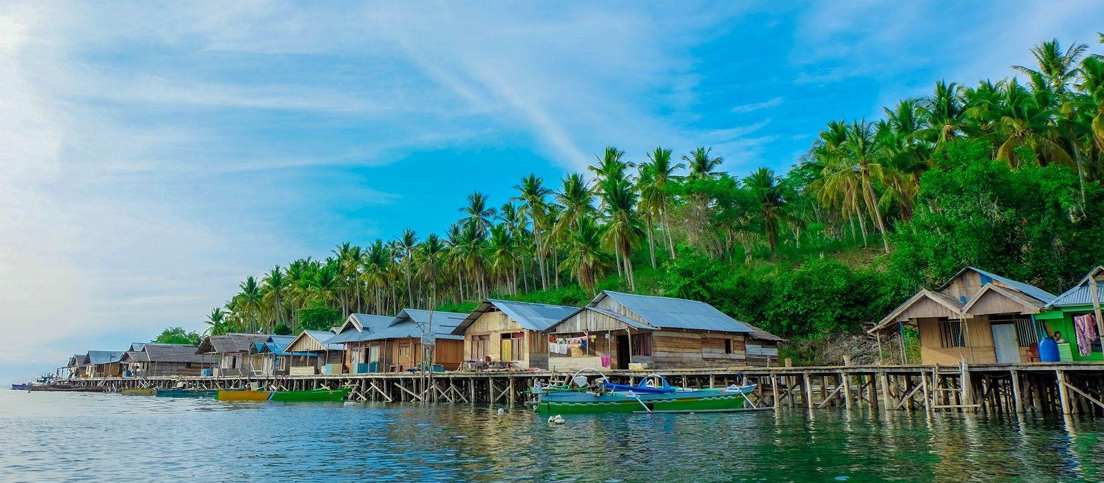 Reiseziel Ampana Indonesien