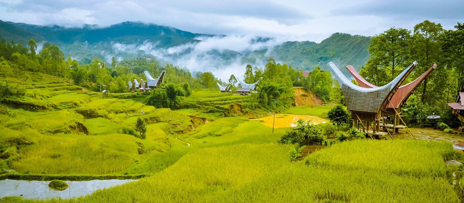 Reiseziel Toraja Indonesien