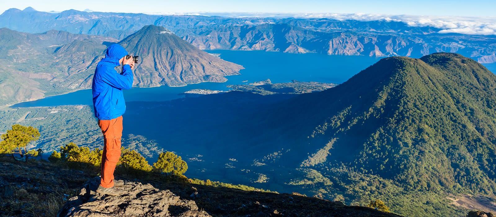 Volcano Trekking in Guatemala Tour Trip 3