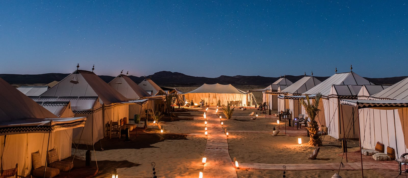 Hotel Desert Luxury Camp Marokko