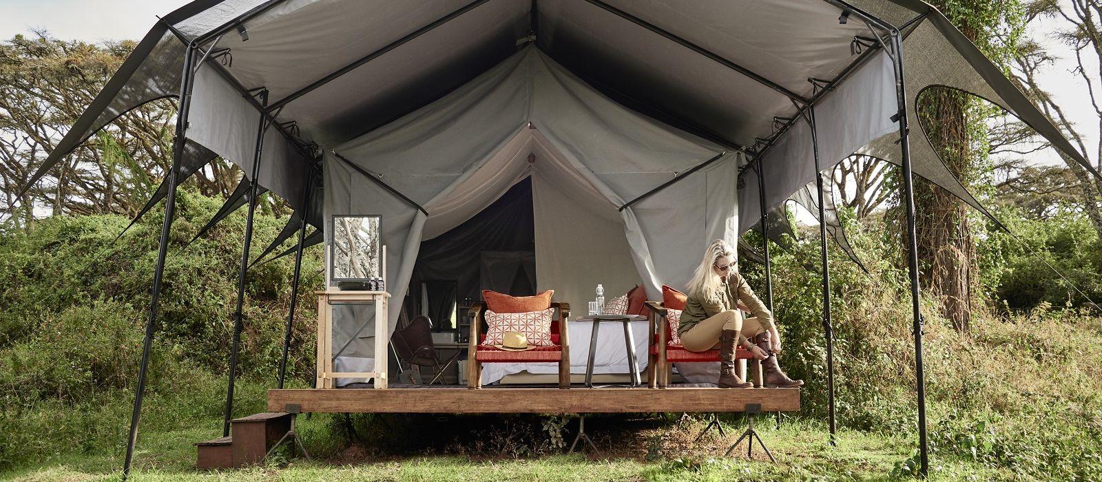 Hotel Sanctuary Ngorongoro Crater Camp Tanzania