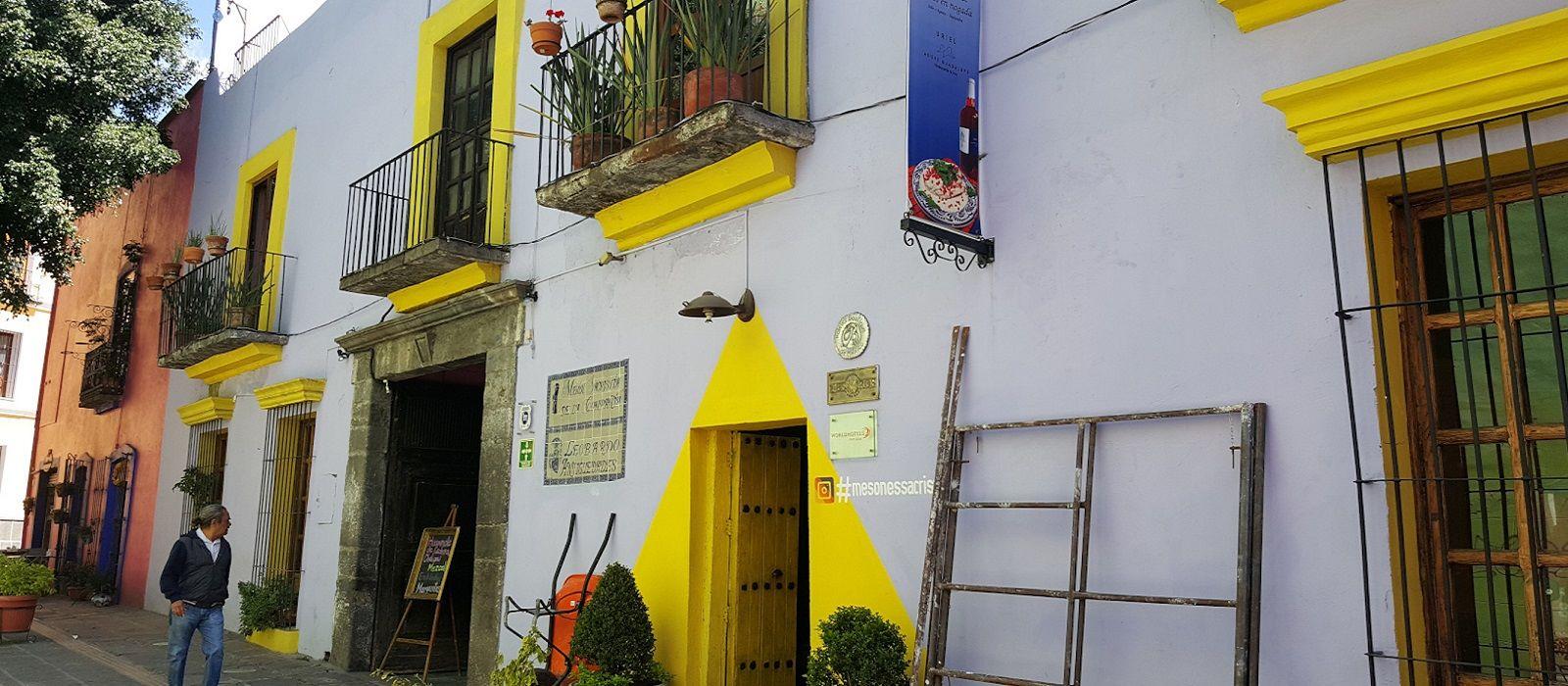 Hotel Meson Sacristia de la Compania Mexico