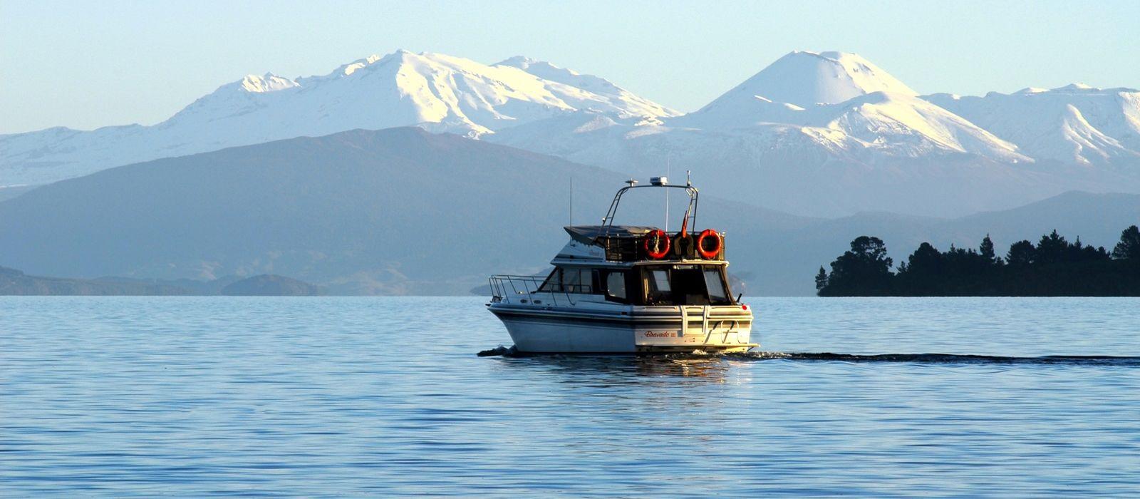 Reiseziel Taupo Neuseeland