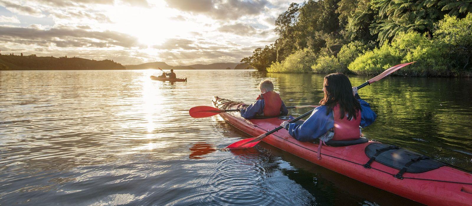 Neuseeland über Land: Von der Süd- zur Nordinsel Urlaub 1
