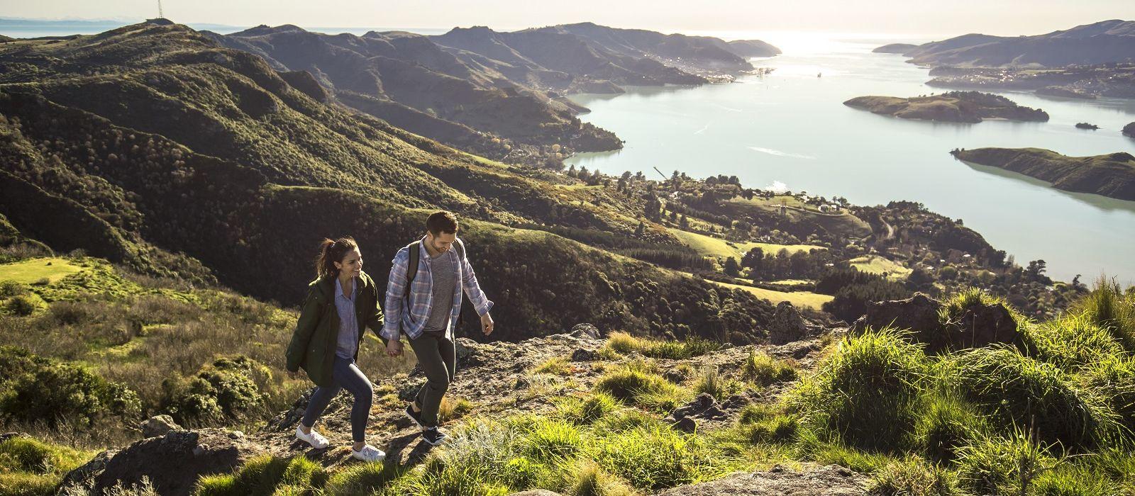 Auf dem Weinwanderweg durch Neuseeland Urlaub 1