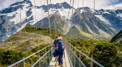 Example private tour: Highlights of New Zealand
