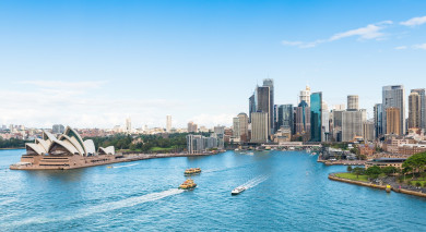 Example private tour: Australia: Cities, National Parks & Beaches