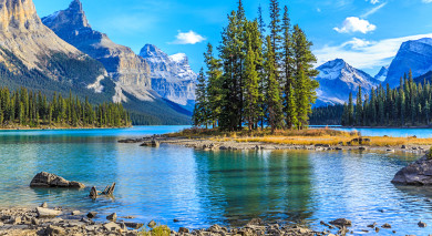 Example private tour: Rocky Mountains and Coastal Wilderness