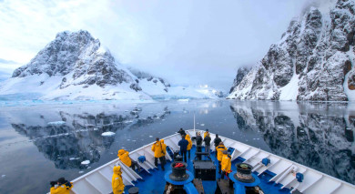 Example private tour: Antarctic Express: Crossing the Circle