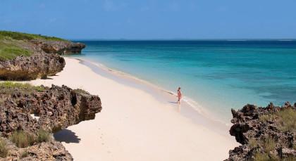 Memba Bay in Mosambik
