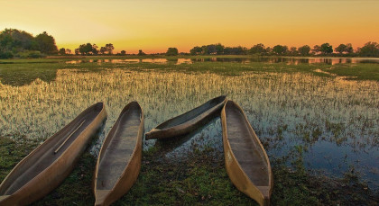 Destination Okavango Delta in Botswana