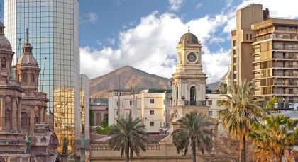 Destination Santiago de Chile in Chile