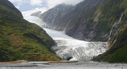 Franz-Josef-Gletscher in Neuseeland