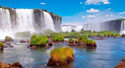 Destination Foz do Iguacu in Brazil